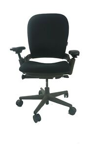 Steelcase Leap Chair Back Refurbished With New Fabric