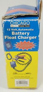 Chicago Electric Power Systems Automatic Battery Float Charger 42292