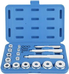 17pcs Bearing Race Seal Driver Master Tool Set Wheel Axle Bushing Install Kit Us