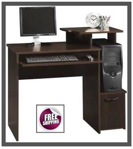 Computer Table Desk Office Compact Home Student Shelf Organizer Study New Free