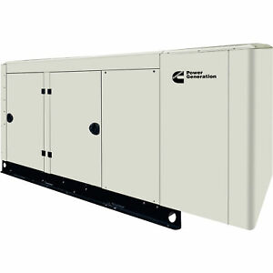 Cummins Commercial Standby Generator 80 Kw Lp ng 277 480v 3 phase Model Rs80