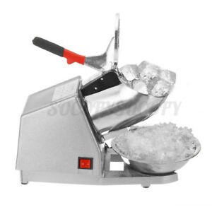 380w Ice Shaver Machine Snow Cone Maker Shaved 143 Lbs Electric Crusher Shaving