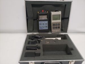 Laser Precision Corp Am 3500 Optical Power Meter And Exfo Fos 200