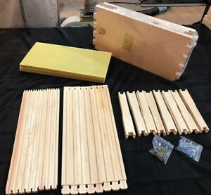 Deep Bee Hive Body 8 Frame 9 5 8 Unassembled Kit Made In Usa