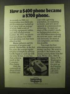 1973 United States Independent Telephone Association Ad