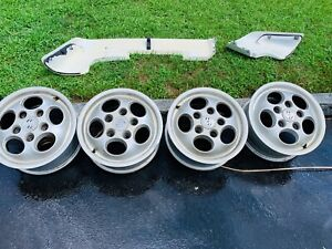 Used Porsche 924 944 Dial Phone Wheel Set 15x7 5x130 Et52 3 944 362 104 00 Sr