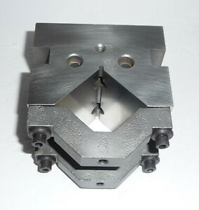Machinist toolmaker Precision V block For Grinding milling 2 95 X 2 95 X 3 95