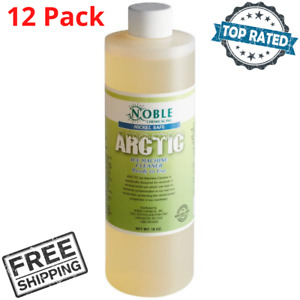 12 Pack Noble Arctic Ice Machine Cleaner Nickel Safe 16 Oz Ready To Use Cps New