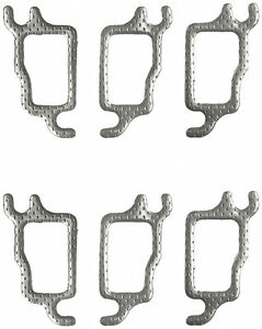 Buick 196 225 231 Cid 64 78 Exhaust Manifold Gasket Set Ms90198