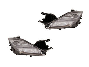 2009 2010 Mazda 6 Xenon Hid Headlight Lamp Pair Set Left Right
