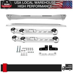 Asr Billet Rear Subframe Control Arm Tie Bar Brace Lca For Honda Civic 92 95 Eg