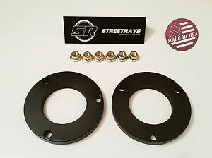 Sr 1 Front Leveling Spacer Lift Kit For 05 18 Tacoma Fj Cruiser 4wd 2wd Blk