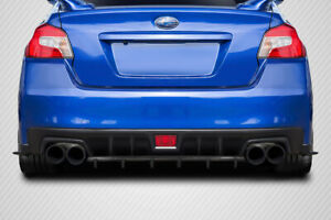 Carbon Creations C Speed Style Rear Diffuser For 15 20 Subaru Wrx Sti