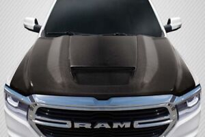 Carbon Creations Srt Ram Air Hood For 19 20 Dodge Ram 1500