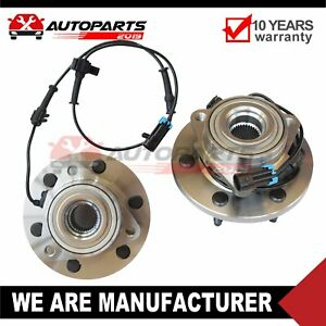 Front Wheel Bearing Hub Set For 2006 2007 2008 2009 Hummer H3 With Abs