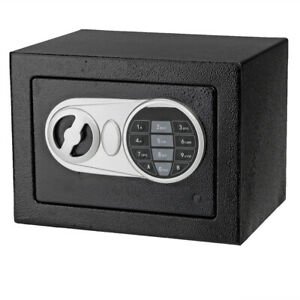 Electronic Digital Password Steel Plate Safe Box Jewelry Home Office Hotel Gun