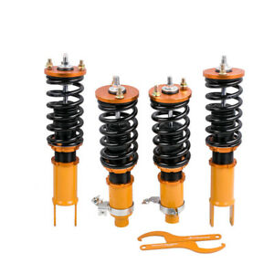 Coilovers Kit For Honda Civic Ek Ej Em Height Adjustable 96 00 Shock Absorber