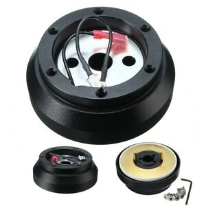 Steering Wheel Quick Release Short Hub Adapter For Nissan Sentra 200sx Altima