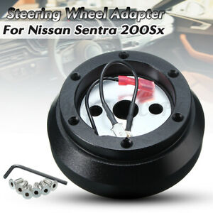 Steering Wheel Short Hub Adapter For Nissan Sentra 200sx 240sx 300zx Altima Us