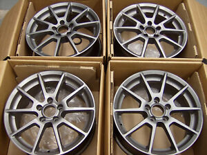 Sport Edition Wheels 17 7 5 Inch 5 112 Vw Audi Wheels Used Center Caps Rings