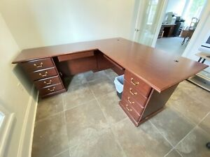 Executive Office L Shaped Desk