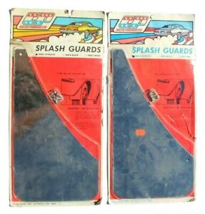 Vtg 1971 Set Of Cp Auto Products Splash Guards 60801 Stainless Nos