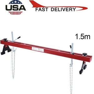 Engine Load Leveler 1100lbs Capacity Support Bar Transmission With Dual Hook Y88
