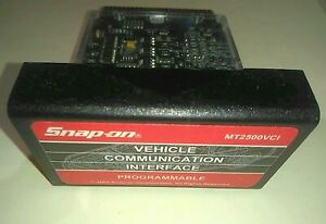 Snap On Mt2500vci Cartridge Vci 7 4 Dom Asian Euro Global Obdii Mt2500 Scanner