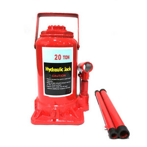 20 Ton Hydraulic Bottle Jack Lift Heavy Duty Automotive Car Compact Usa Ship