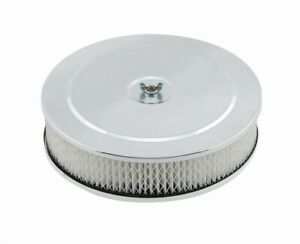 Mr Gasket 9in Chrome Air Cleaner 1487