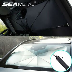 Us Large Foldable Car Windshield Sunshade Window Cover Visor Sun Shade Umbrella