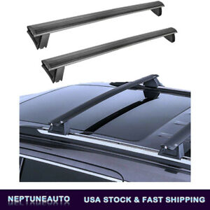 Roof Rack Cross Bars Luggage For 11 20 Jeep Grand Cherokee W Side Rails 3 0l V6
