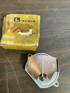1959 Lincoln Mark Continental Ammeter Amp Battery Gauge Nos Ford 720