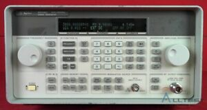 Hp Agilent 8648c 1e5 3623a02418 Synthesized Signal Generator 9 Khz To 3200 Mhz