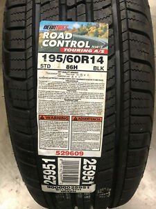 2 New 195 60 14 Dean Road Control Nw 3 Touring A s Tires