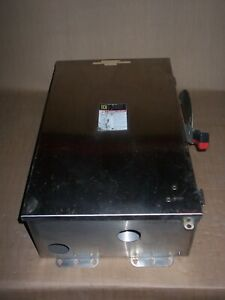 Square D Hu364ds 200 Amp Non Fusible Stainless Safety Switch Disconnect