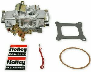 Holley 750 Cfm Classic Carburetor Electric Choke Vacuum Secondary Polished