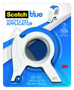 Scotchblue Painter s Tape Applicator Blue With 1 Starter Roll 1 41 In X 20