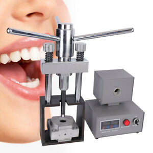 Dental Flexible Denture Machine Dentistry Injection System Lab Equipment 400w Us