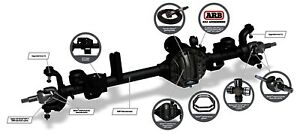 Axle Complete Assembly spicer Axle Assembly Front Fits 07 18 Jeep Wrangler