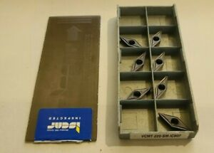 Vcmt 220 Sm Ic907 Iscar 7 Inserts Factory Pack