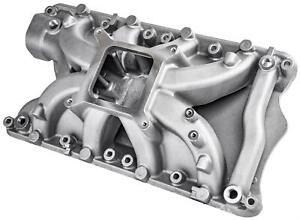 Jegs 513046 Intake Manifold Small Block Ford 351 Windsor 5 680 In H Square Bore