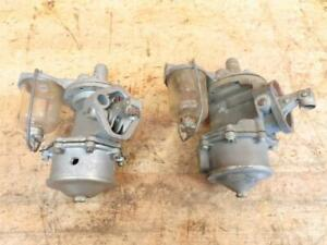 2 Nos 586 Ac Fuel Pump 1949 1950 1951 Ford Mercury V 8 Double Action
