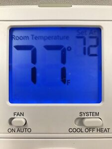 Pro1iaq T701 Digital Wall Electronic Non programmable Thermostat 1h 1c