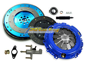 Fx Stage 1 Clutch Kit aluminum Flywheel hd Master Cylinder For 02 06 Rsx Type s