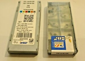 Vcmt 220 Sm Ic908 Iscar 10 Inserts Factory Pack Authentic