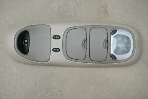 1997 2002 Ford Expedition Overhead Console With Display Beige