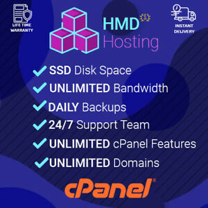 1 Year Cloud Web Hosting Fast Ssd Cpanel With Softaculous 7 24 Support