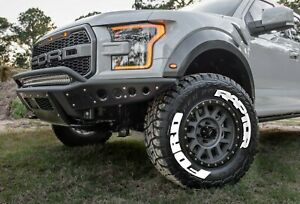 Permanent Tire Lettering Ford Raptor Stickers Letter Wheel 14 24 Decal 1 37