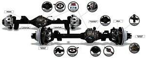 Axle Complete Assembly Spicer Axle Assembly Rear Fits 18 20 Jeep Wrangler